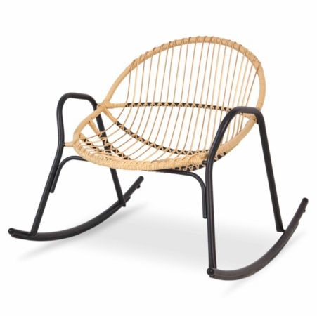 B&Q CUBA RATTAN ROCKING CHAIR