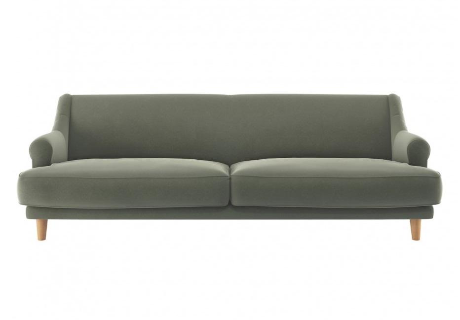 Habitat TOWNSEND 3 Seater Sofa sage