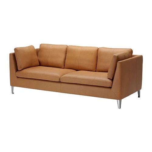 IKEA Three-seat sofa STOCKHOLM Seglora natural