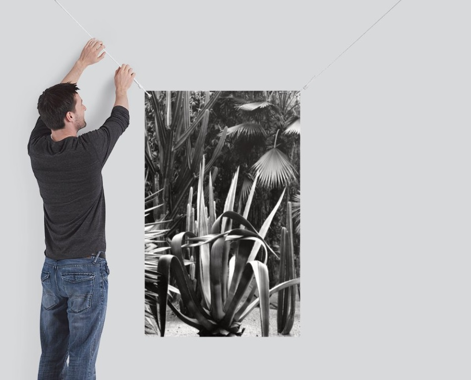 Outdoor art cactus vistaprint vinyl banner