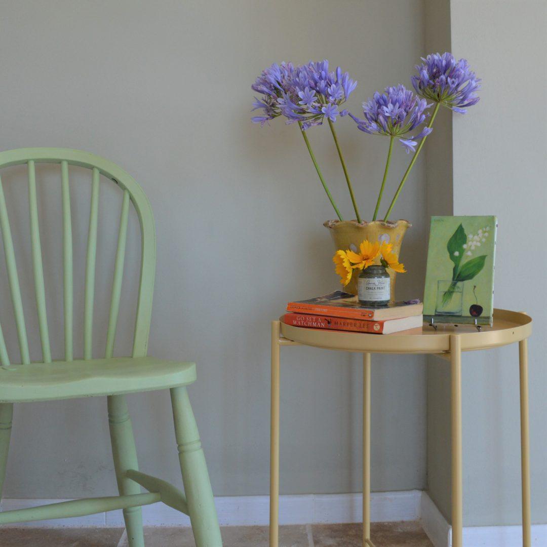 Annie Sloan Lem Lem chair chalk paint Oxfam
