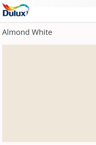 Dulux Almond White