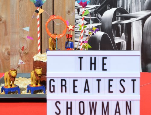 The Greatest Showman Birthday party circus Home Made Productions
