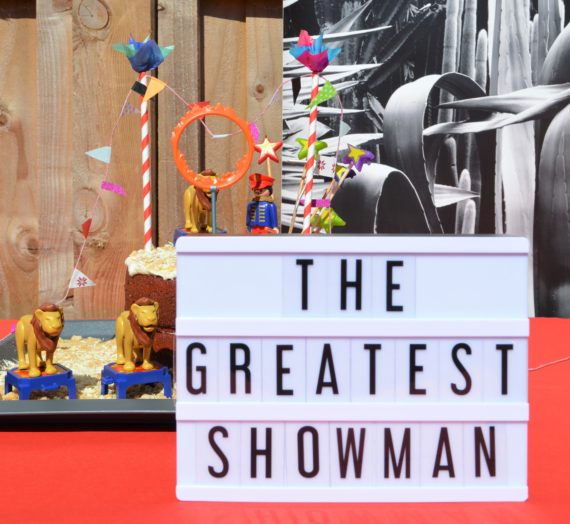 The Greatest Showman Birthday party