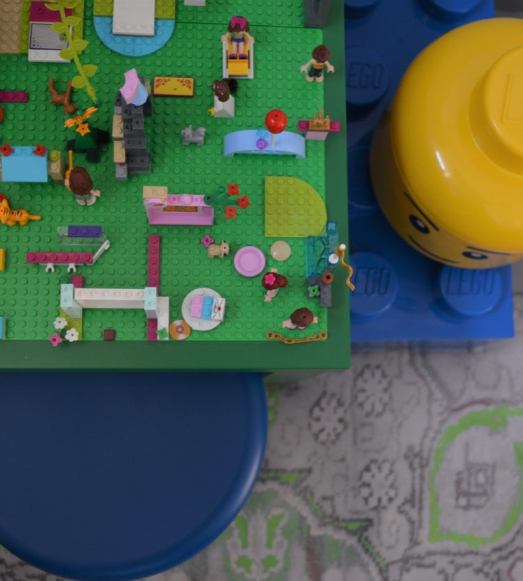 How to: Ikea lack lego table hack