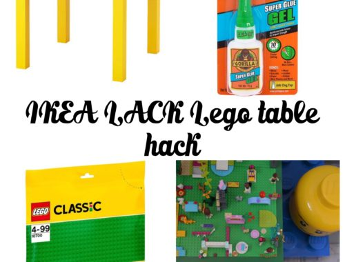 How To Ikea Lack Lego Table Hack Home Made Productions
