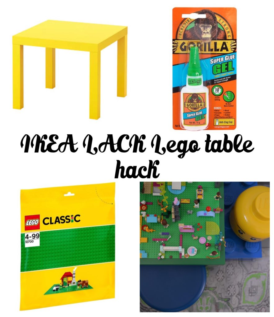 Ikea lack hack lego table how to Home Made Productions