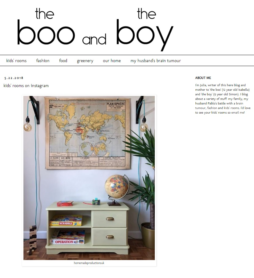 the boo and the boy May 2018