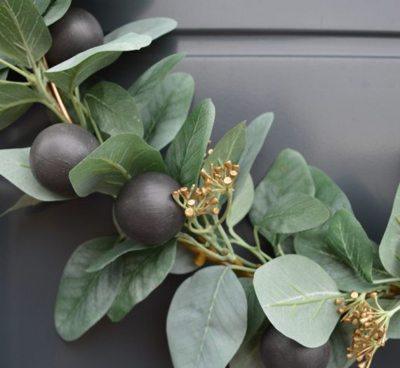 How to: Rustoleum wreath