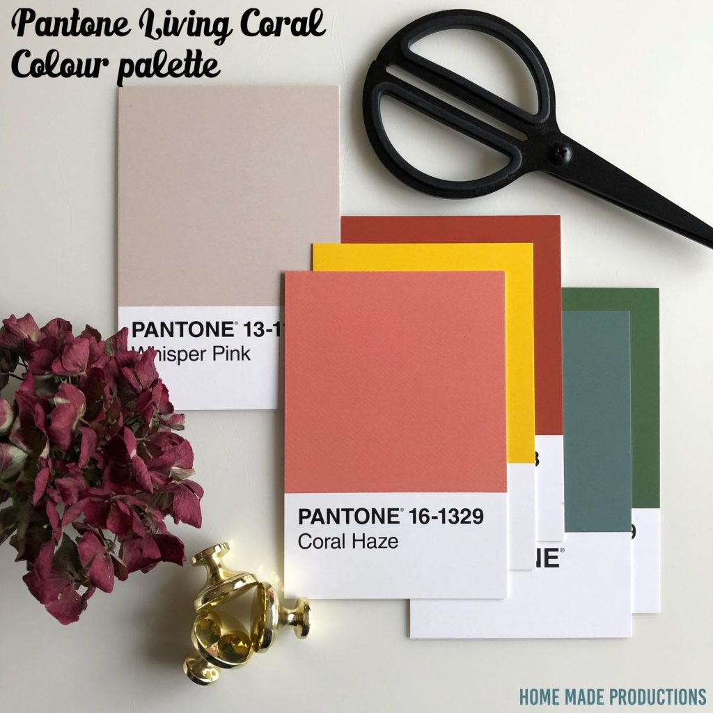 Pantone Living Coral Home Made Productions