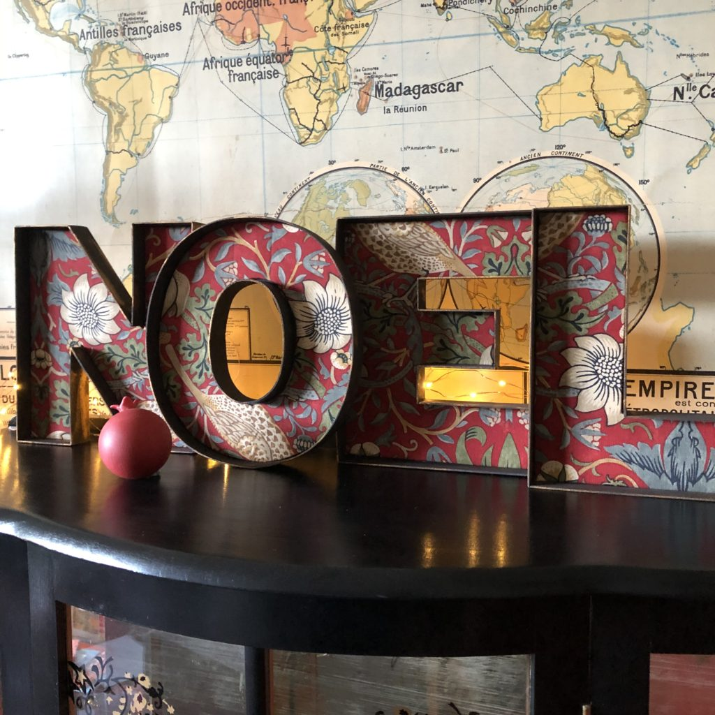 How to make a NOEL sign