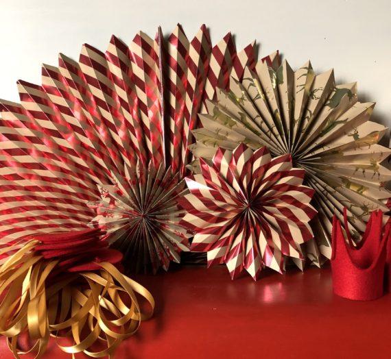 How to: make pinwheel decorations