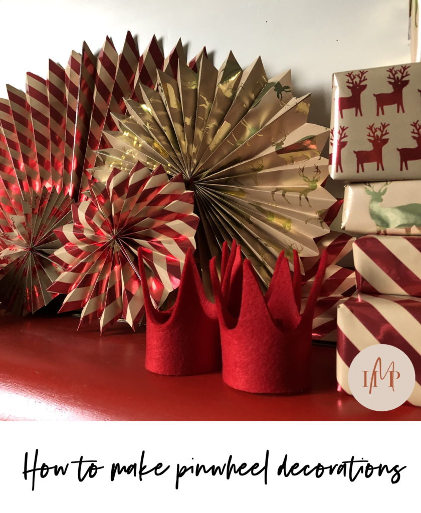 How to make pinwheel decorations