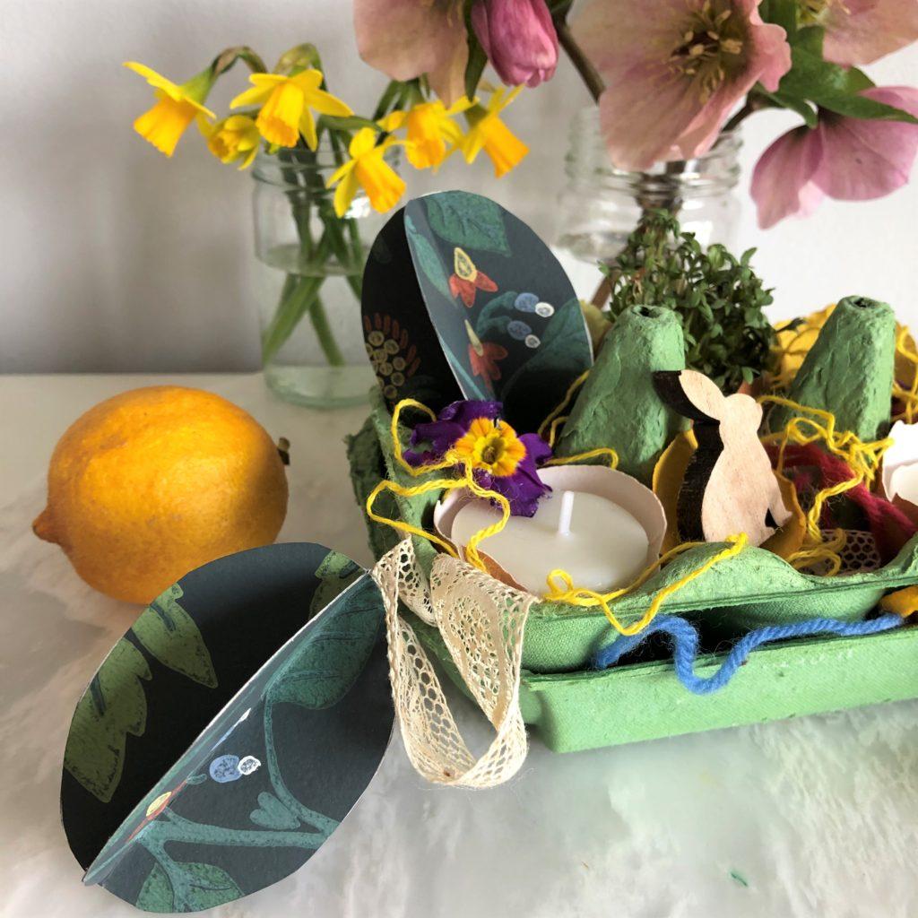How to make wallpaper Easter eggs