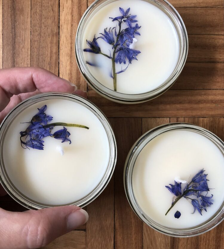 How to: make upcycled GU pot candles