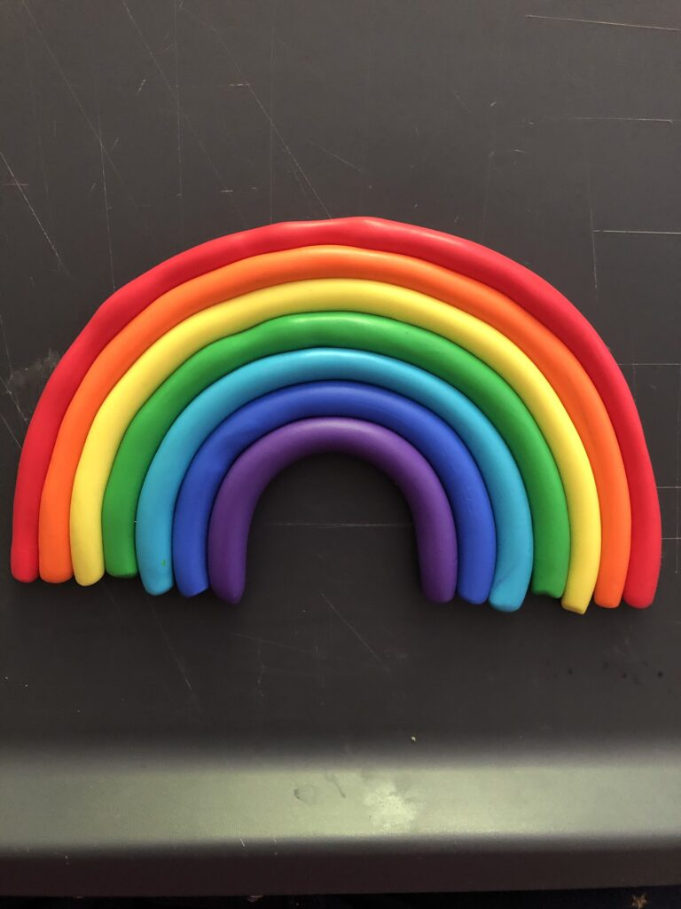 How to make a FIMO rainbow decoration